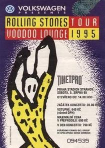 Rolling Stones - Prague 1995 - Poster / Capa / Cartaz - Oficial 2