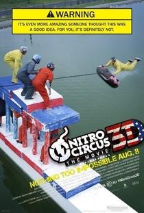 Nitro Circus: The Movie - Poster / Capa / Cartaz - Oficial 2