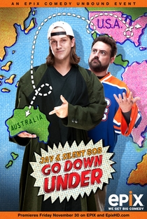 Jay and Silent Bob Go Down Under - Poster / Capa / Cartaz - Oficial 1