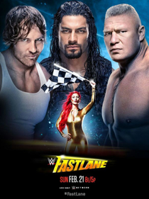 WWE Fastlane 2016 - Poster / Capa / Cartaz - Oficial 1
