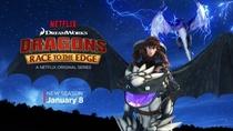 Dragões: Corrida Até o Limite (2ª Temporada) - Poster / Capa / Cartaz - Oficial 2