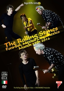 Rolling Stones - Mexico City 2016 (2nd Night) - Poster / Capa / Cartaz - Oficial 2
