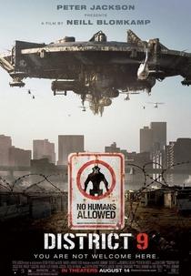Distrito 9 - Poster / Capa / Cartaz - Oficial 1