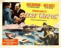 Sherlock Holmes e a Arma Secreta - Poster / Capa / Cartaz - Oficial 6