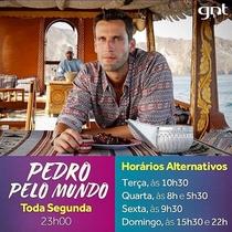 Pedro pelo Mundo (1ª Temporada) - Poster / Capa / Cartaz - Oficial 1