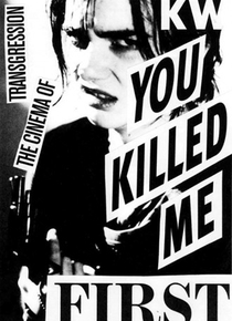 You Killed Me First - Poster / Capa / Cartaz - Oficial 1