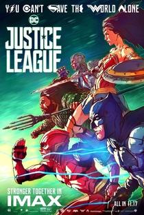 Liga da Justiça - Poster / Capa / Cartaz - Oficial 9