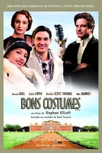 Bons Costumes - Poster / Capa / Cartaz - Oficial 3