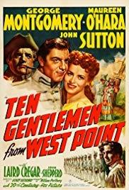Dez Cavalheiros de West Point - Poster / Capa / Cartaz - Oficial 1