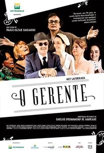 O Gerente - Poster / Capa / Cartaz - Oficial 1