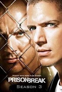 Prison Break (3ª Temporada) - Poster / Capa / Cartaz - Oficial 1