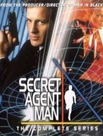 Secret Agent Man (1ª Temporada) - Poster / Capa / Cartaz - Oficial 1