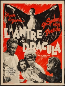 A Casa de Dracula - Poster / Capa / Cartaz - Oficial 5