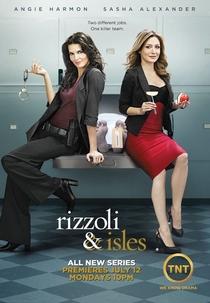 Rizzoli and Isles (1ª Temporada) - Poster / Capa / Cartaz - Oficial 1