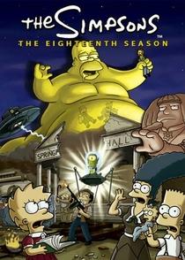 Os Simpsons (18ª Temporada) - Poster / Capa / Cartaz - Oficial 2