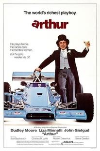 Arthur - O Milionário Sedutor - Poster / Capa / Cartaz - Oficial 3