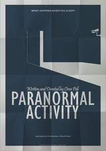 Atividade Paranormal - Poster / Capa / Cartaz - Oficial 4