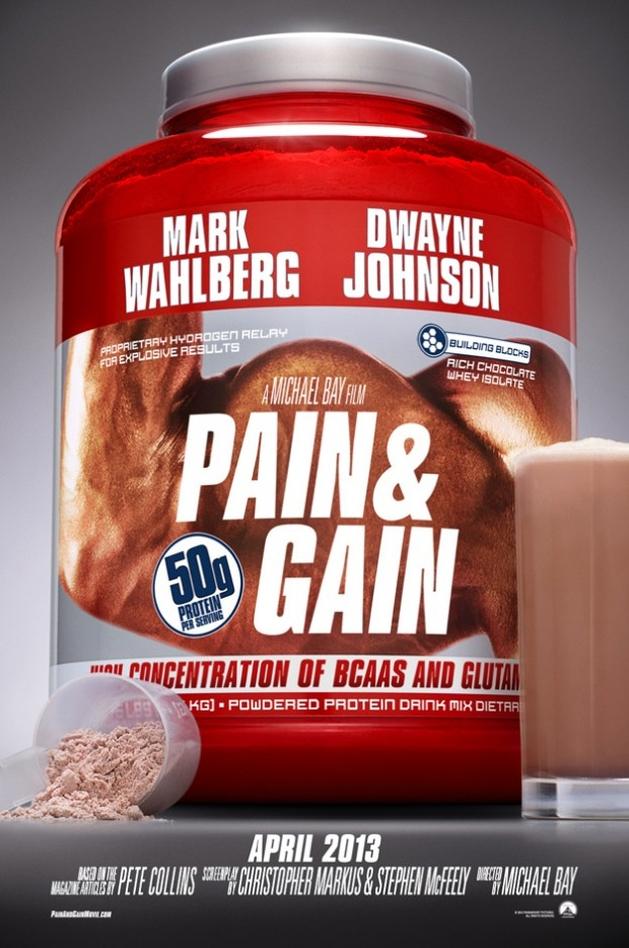 Pain and Gain: Novo filme de Michael Bay ganha seu primeiro cartaz