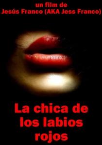 La Chica de los Labios Rojos  - Poster / Capa / Cartaz - Oficial 1