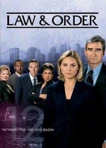 Lei e Ordem (12ª Temporada) - Poster / Capa / Cartaz - Oficial 1