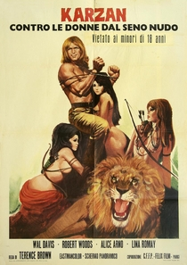 Maciste Contre la Reine des Amazones - Poster / Capa / Cartaz - Oficial 1