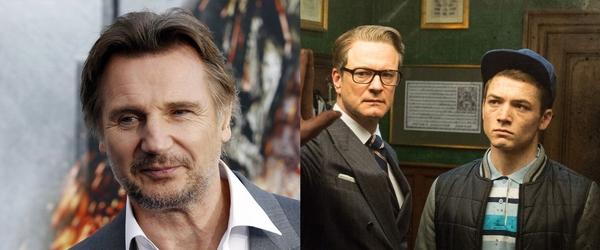 Liam Neeson entra para o elenco de prelúdio de Kingsman