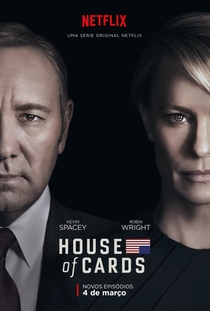 House of Cards (4ª Temporada) - Poster / Capa / Cartaz - Oficial 1