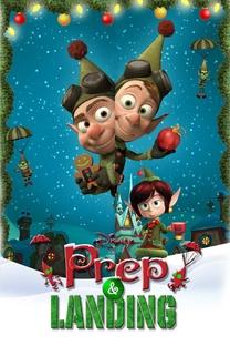 Lanny e Wayne Elfos de Natal Apresentam: Preparação e Pouso - Poster / Capa / Cartaz - Oficial 1