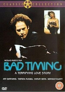 Bad Timing - Contratempo - Poster / Capa / Cartaz - Oficial 3