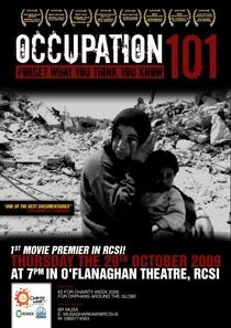 Ocupação 101: A Voz da Maioria Silenciada - Poster / Capa / Cartaz - Oficial 3