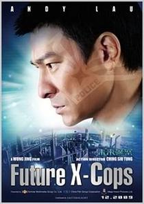 Future X-Cops - Poster / Capa / Cartaz - Oficial 1