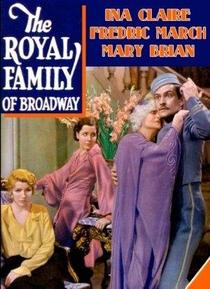 A Família Real de Broadway - Poster / Capa / Cartaz - Oficial 1