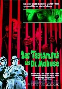 O Testamento do Dr. Mabuse - Poster / Capa / Cartaz - Oficial 2