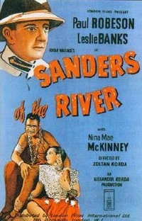 Sanders of the river - Poster / Capa / Cartaz - Oficial 1