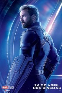 Vingadores: Guerra Infinita - Poster / Capa / Cartaz - Oficial 25