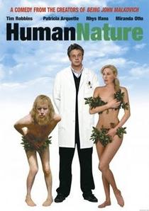 A Natureza Quase Humana - Poster / Capa / Cartaz - Oficial 3