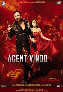 Agent Vinod - Poster / Capa / Cartaz - Oficial 3