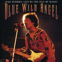 Jimi Hendrix - Blue Wild Angel - Live at the Isle of Wight - Poster / Capa / Cartaz - Oficial 1