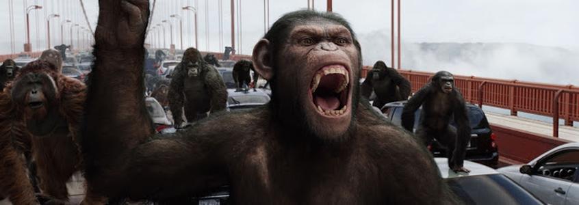Dawn of the Planet of the Apes | Revelado logo e sinopse da sequência de Planeta dos Macacos: A Origem |