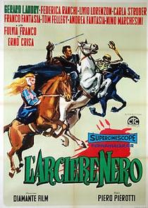 O Arqueiro Negro - Poster / Capa / Cartaz - Oficial 1