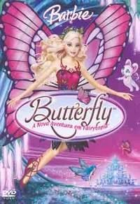 Barbie Butterfly - Uma Nova Aventura em Fairytopia  - Poster / Capa / Cartaz - Oficial 1