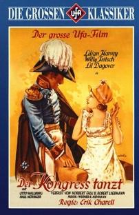 The Congress Dances - Poster / Capa / Cartaz - Oficial 1