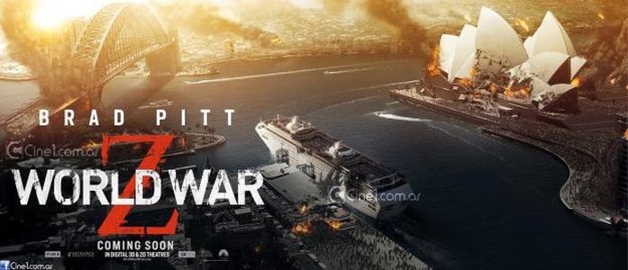 """Destruição se espalha pelo mundo em novos banners de """"Guerra Mundial Z"""""""