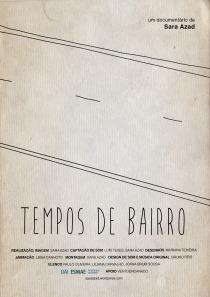 Tempos de Bairro - Poster / Capa / Cartaz - Oficial 1