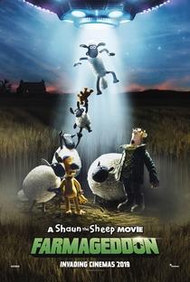 Shaun, O Carneiro - O Filme: A Fazenda Contra-Ataca - Poster / Capa / Cartaz - Oficial 2
