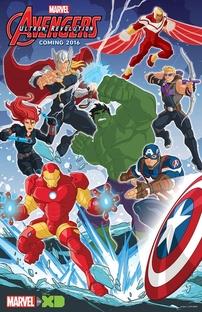 Os Vingadores Unidos (3ª Temporada) - Poster / Capa / Cartaz - Oficial 1