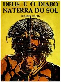 Deus e o Diabo na Terra do Sol - Poster / Capa / Cartaz - Oficial 6