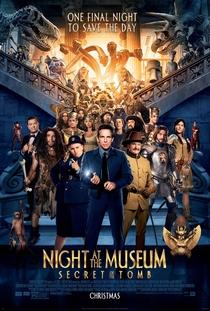 Uma Noite no Museu 3: O Segredo da Tumba - Poster / Capa / Cartaz - Oficial 2