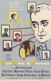 O Nosso Homem em Havana - Poster / Capa / Cartaz - Oficial 1