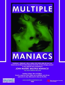 Multiple Maniacs - Poster / Capa / Cartaz - Oficial 3